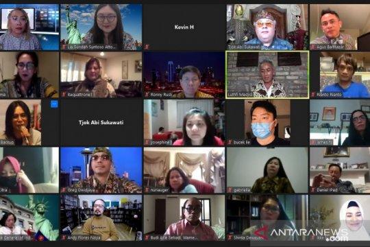 Amerika Bersatu gelar sosialisasi penggunaan masker melalui kompetisi