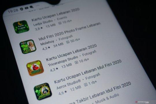 Tiga aplikasi untuk membuat kartu Lebaran