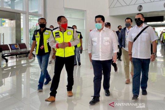Menteri BUMN apresiasi pembatasan perjalanan di Bandara Semarang