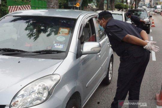 Polisi Malaysia usir balik pemudik