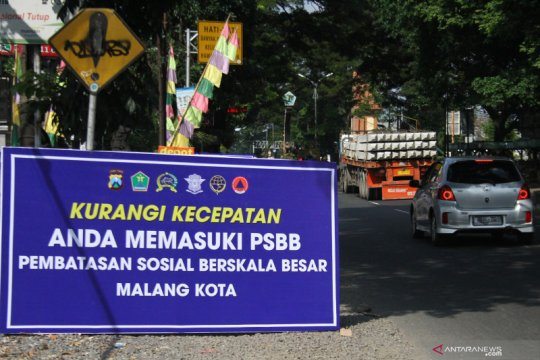 Tak ada penutupan akses masuk ke Kota Malang selama PSBB