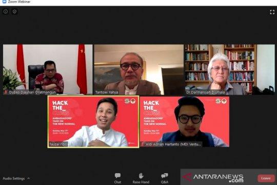 """Kecenderungan """"the new normal"""" dunia bisa jadi peluang bagi Indonesia"""