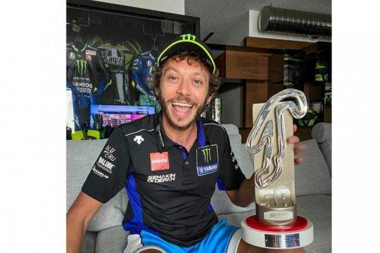 Berkat Quartararo, Rossi rayakan podium Grand Prix Virtual di Misano