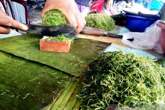 Rujak daun, makanan khas berbuka puasa warga Muslim di Aceh