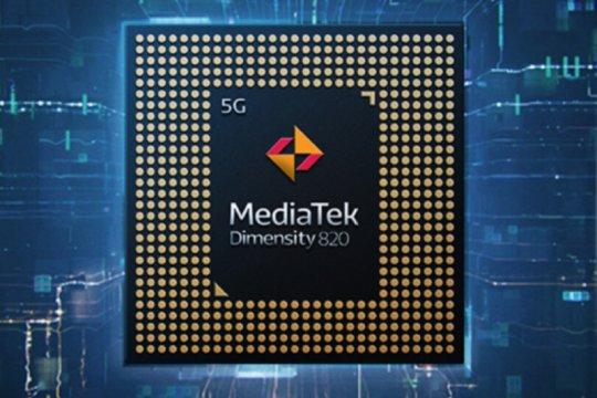 MediaTek umumkan chipset Dimensity 820 untuk 5G ultra-cepat