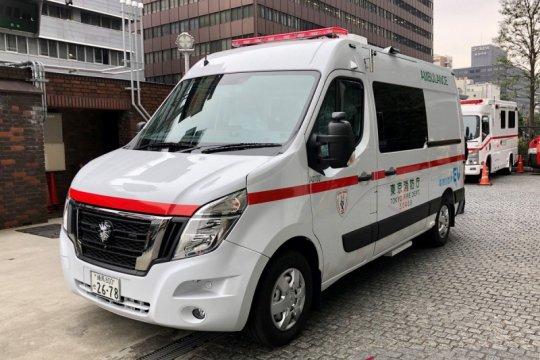 Nissan NV400, ambulans pertama tanpa emisi di Jepang