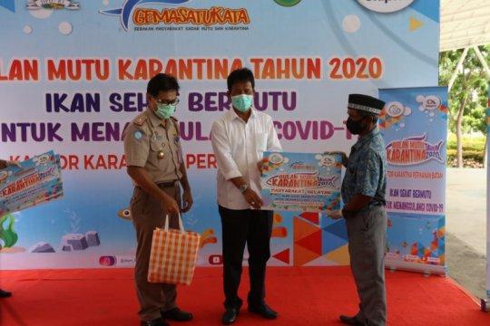 KKP salurkan ikan untuk warga terdampak COVID-19 di Batam