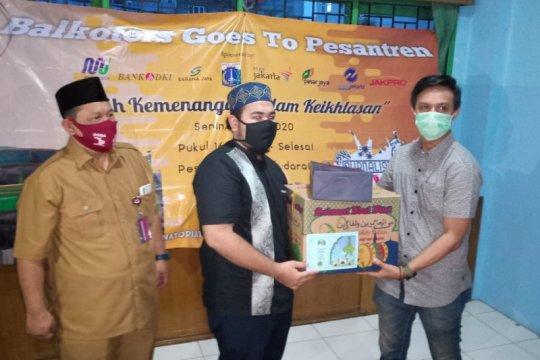 Yayasan Sa'addatuddarain-Wartawan DKI bantu guru honorer