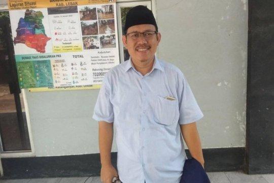 PKS Lebak bagikan 1.500 paket beras kepada marbut