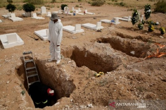 Meksiko laporkan angka tertinggi kematian, kasus COVID-19