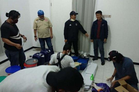 BNN geledah pabrik sabu di kompleks perumahan Semarang