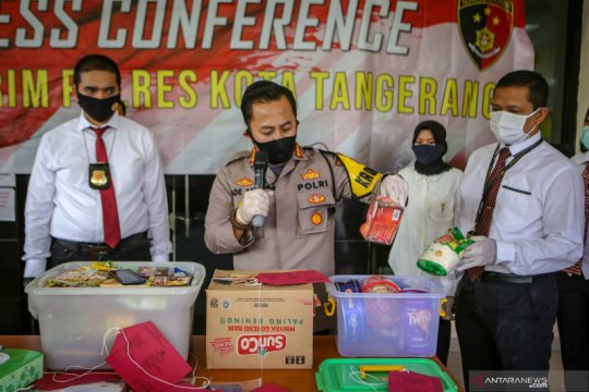 Polresta Tangerang ciduk tujuh wanita penipu penjual parcel Lebaran