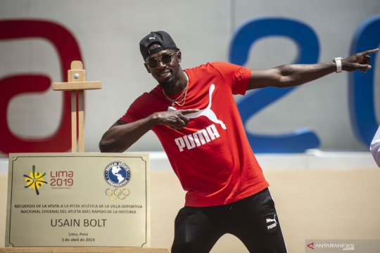 Legenda sprint Jamaika Usain Bolt resmi menjadi seorang ayah