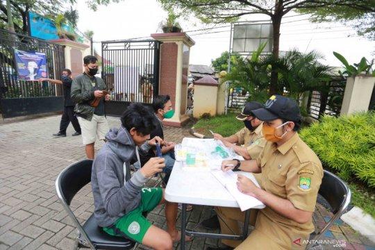 Pemkot Tangerang catat 2.146 pelanggar PSBB dalam tiga hari