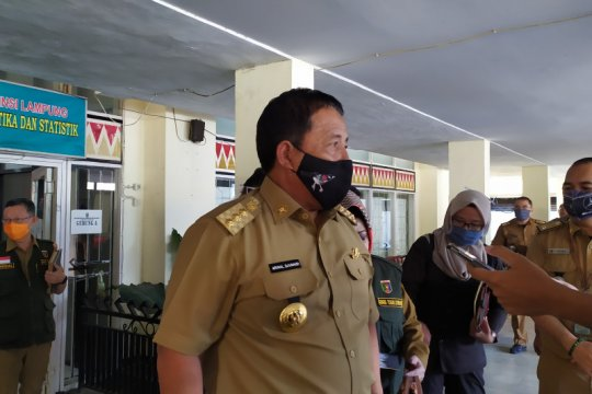 Pemprov Lampung fasilitasi pelaksanaan rapid tes massal bagi kabupaten