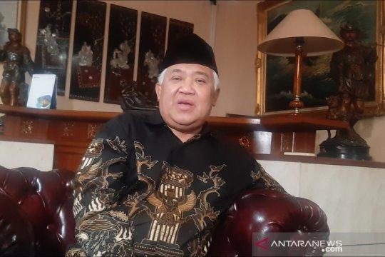 Din Syamsuddin ajak umat konsisten beribadah di rumah selama COVID-19