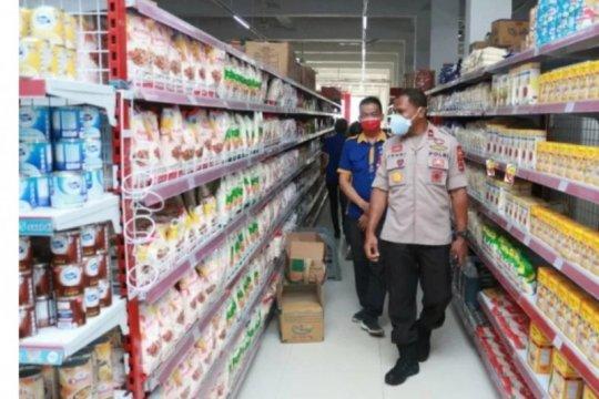 Polisi kesulitan terapkan protokol COVID-19 di pasar tradisional