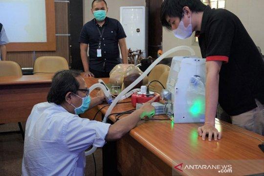 Ventilator buatan ITB lolos uji Balai Pengamanan Fasilitas Kesehatan