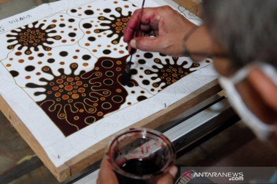 Batik motif corona