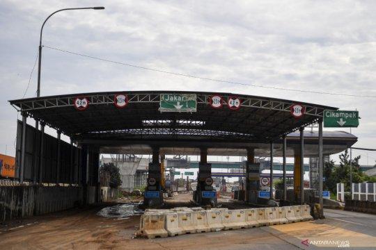 Ada proyek simpang susun, Jasa Marga tutup gerbang tol Cibitung 1 dan 2