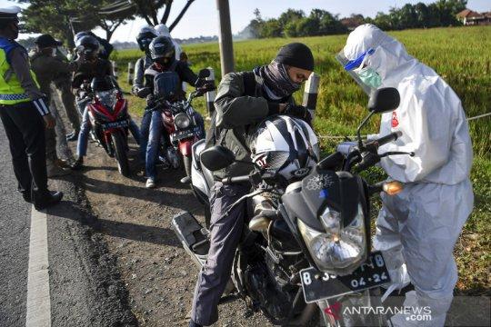 Pemeriksaan pemudik di jalur Pantura