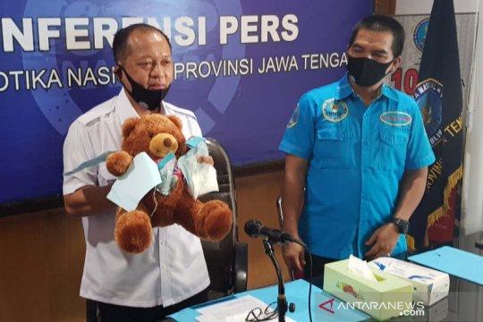 BNN Jateng ungkap pengiriman narkotika lolos pengawasan PSBB