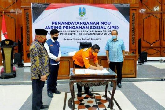 Pemprov Jatim dan Pemda tanda tangani kesepakatan JPS lanjutan