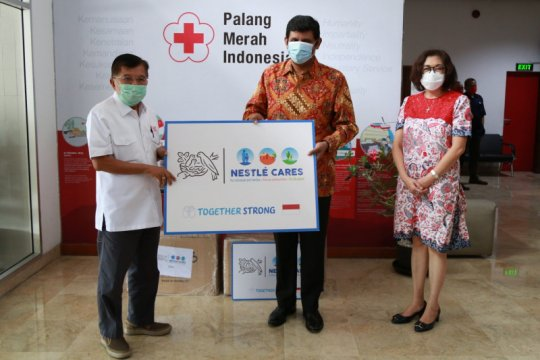 Nestle Indonesia beri bantuan untuk PMI hadapi pandemi COVID-19