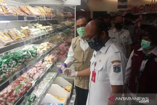 Pemkot Jakpus sidak Pasar Gondangdia jelang Lebaran