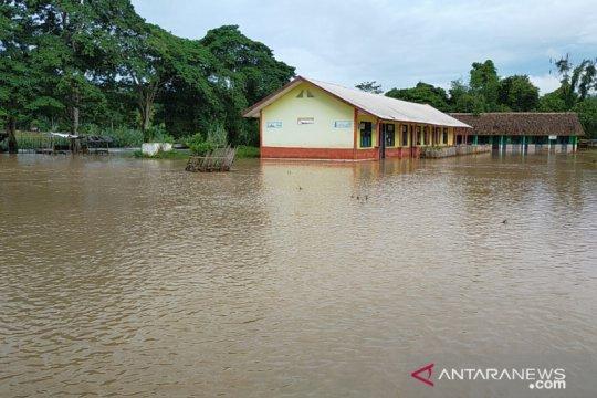 Banjir di Oku Selatan, sawah seluas 3,5 hektare terancam gagal panen