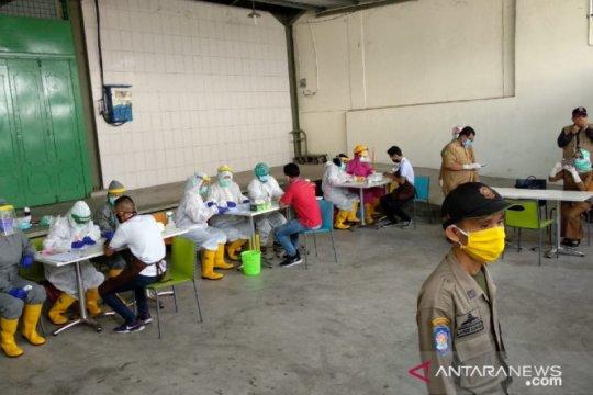 Hasil tes cepat, 17 karyawan Brastagi Supermarket Medan reaktif
