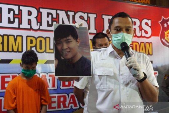 Polres Medan tangkap pelaku pembunuhan yang ikat korbannya