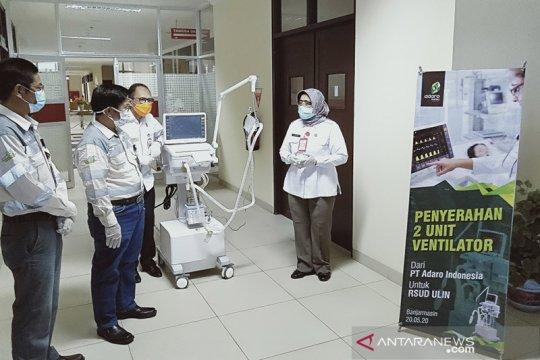 PT Adaro datangkan dua ventilator impor untuk RSUD Ulin Banjarmasin