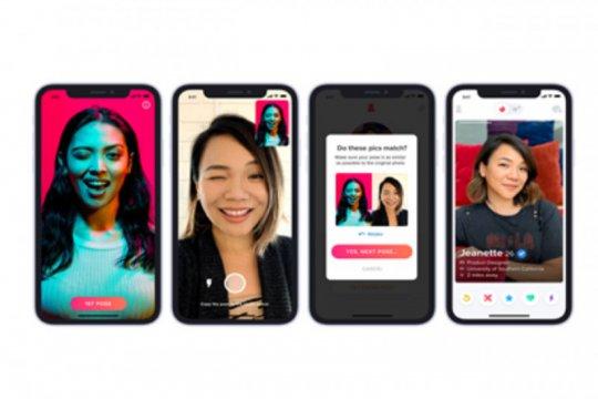 Tinder rilis fitur keamanan baru, teknologi dengan verifikasi foto