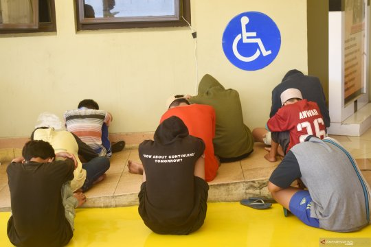 Tawuran di KBU, polisi amankan sembilan pelaku di bawah umur