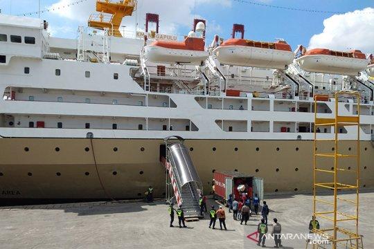 Pelabuhan penumpang Tanjung Priok ramai angkut logistik antarpulau
