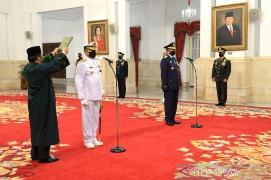 Kemarin, Kasal dan Kasau dilantik hingga soal silaturahim Idul Fitri