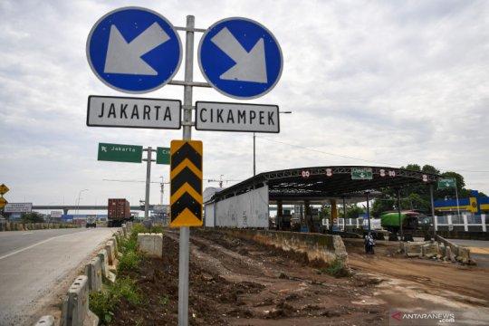 Jasa Marga alihkan transaksi Gerbang Tol Cibitung