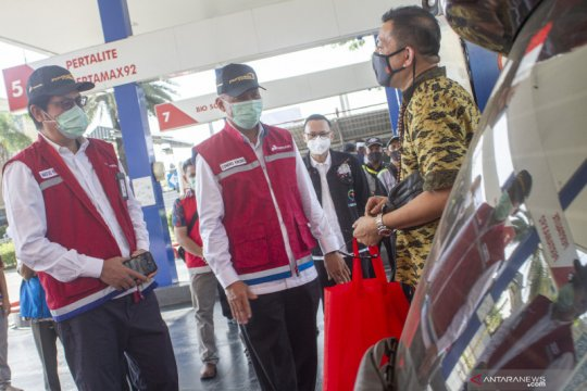 Pantau penjualan BBM, Telkom tuntaskan digitalisasi SPBU Indonesia