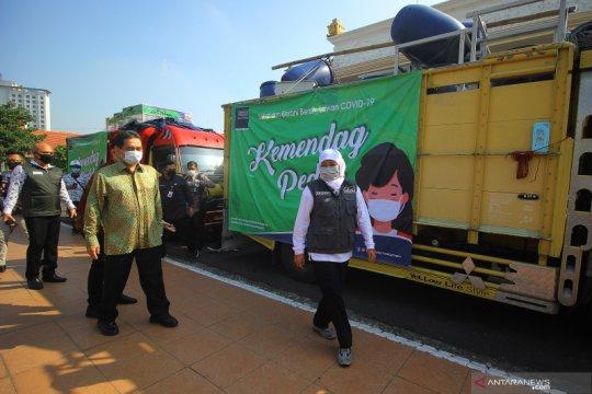 Penyerahan bantuan dari Kementerian Perdagangan