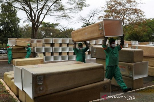 Brazil laporkan 39.436 kasus tambahan corona dalam 24 jam