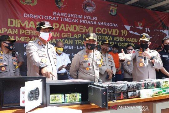Polisi ungkap penyelundupan 71 kilogram sabu modus ekspedisi sembako