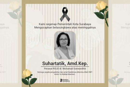 Seorang perawat RSUD Soewandhie meninggal diduga terpapar COVID-19