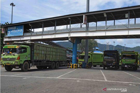 Angkutan logistik ke Pulau Sumatera naik 62 persen menjelang lebaran