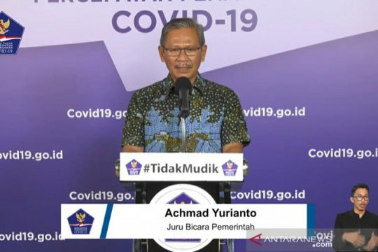Jubir: Pasien sembuh dari COVID bertambah 263 menjadi 4.838 orang