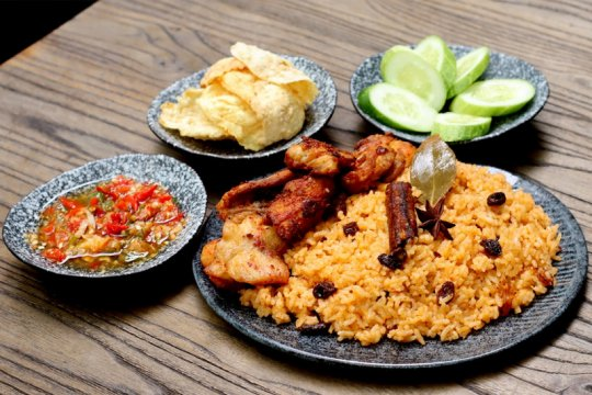 Menu Lebaran - Nasi kebuli rice cooker ala chef Devina Hermawan