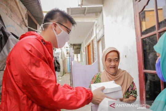 PSI distribusikan 26.000 paket makanan kepada warga Jakarta