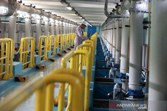 PAM Jaya: konsumsi air industri turun lima persen selama PSBB