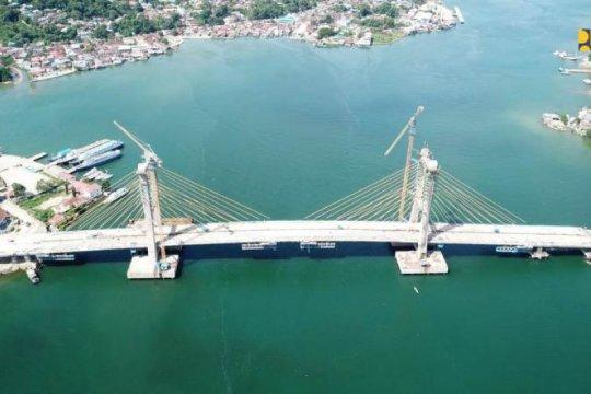 Capai 92 persen, Jembatan Teluk Kendari diharapkan segera rampung