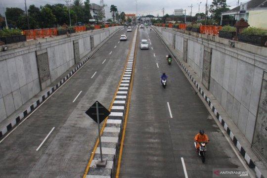 Penurunan volume kendaraan di Tol Malang